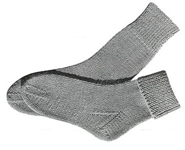 Children's Knitted Socks Pattern