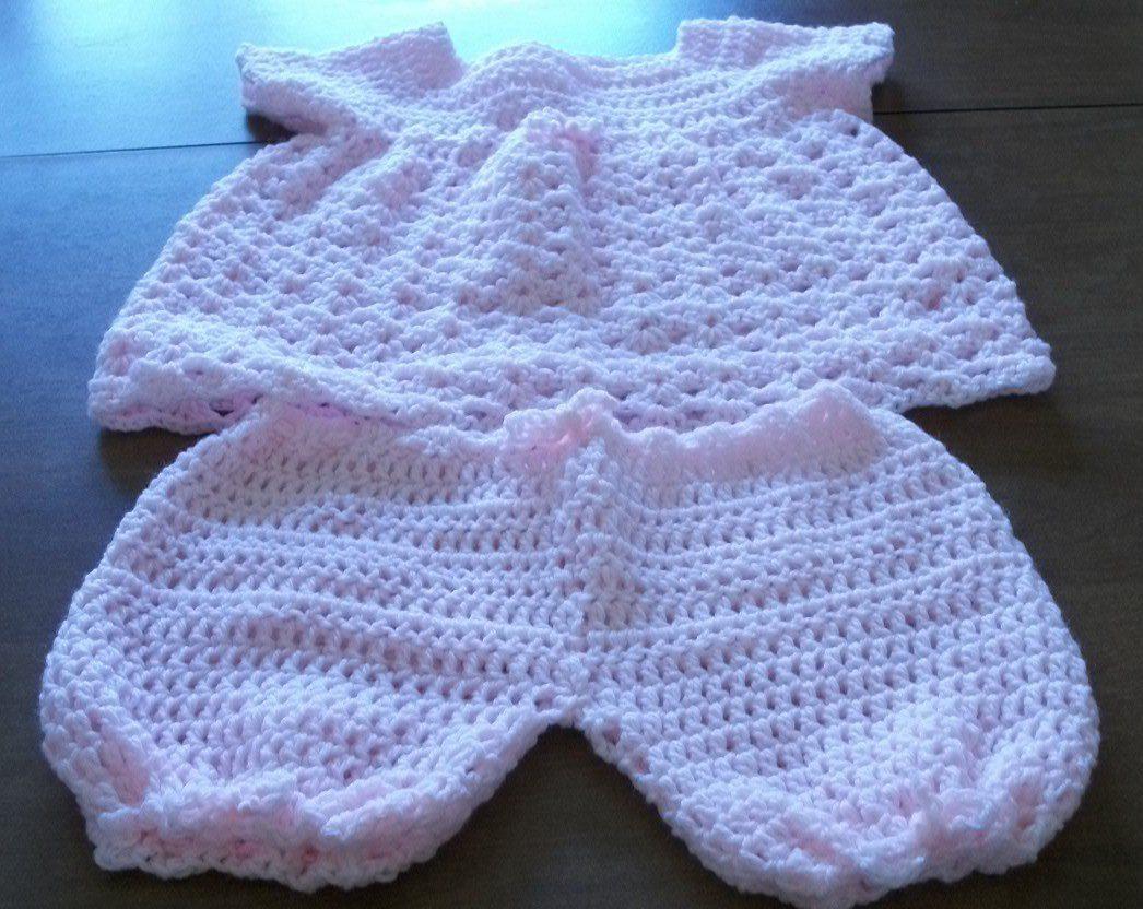 white crochet dress for baby