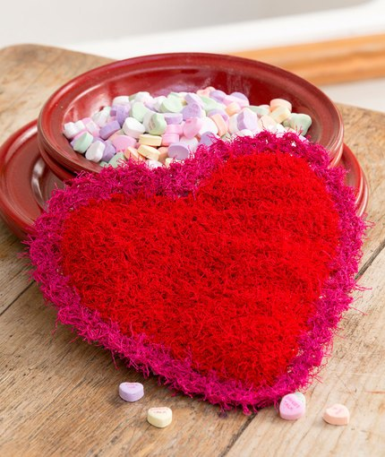 10 Free Valentine Crochet Patterns Using Red Heart Yarns American