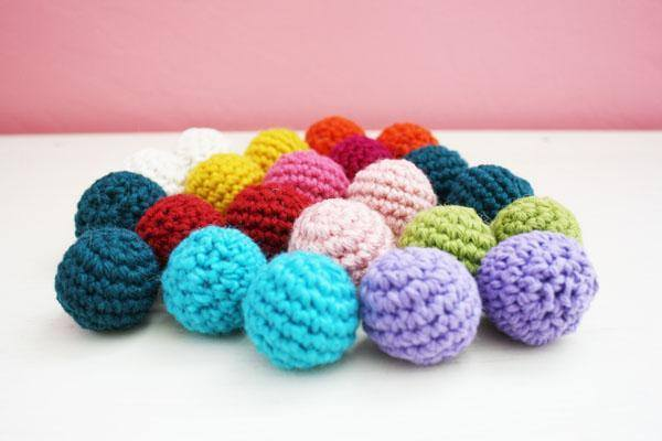 amigurumi gumballs many colours