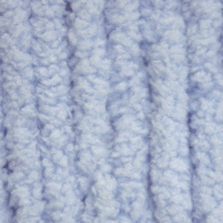 Baby blue Bernat baby blanket