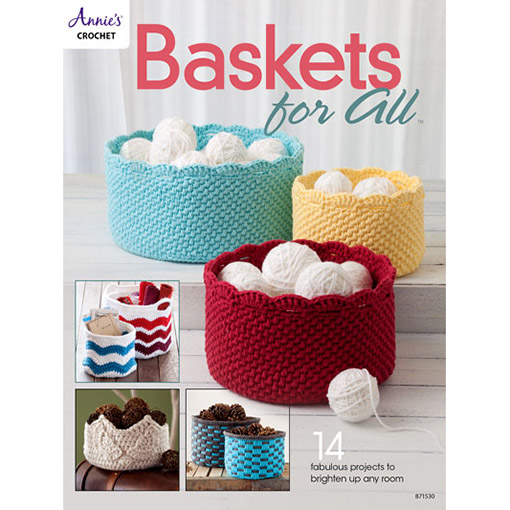 Baskets for All-annies crochet book
