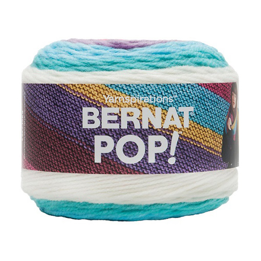 Bernat Pop yarn - Snow Queen