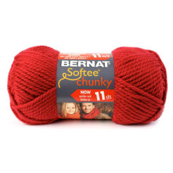 Bernat Softee Chunky Holiday Yarn redwood