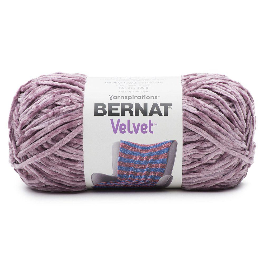 Bernat Velvet Yarn - Shadow Purple