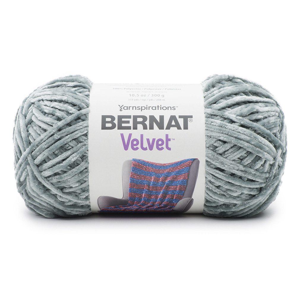 Bernat Velvet Yarn - Smokey Green
