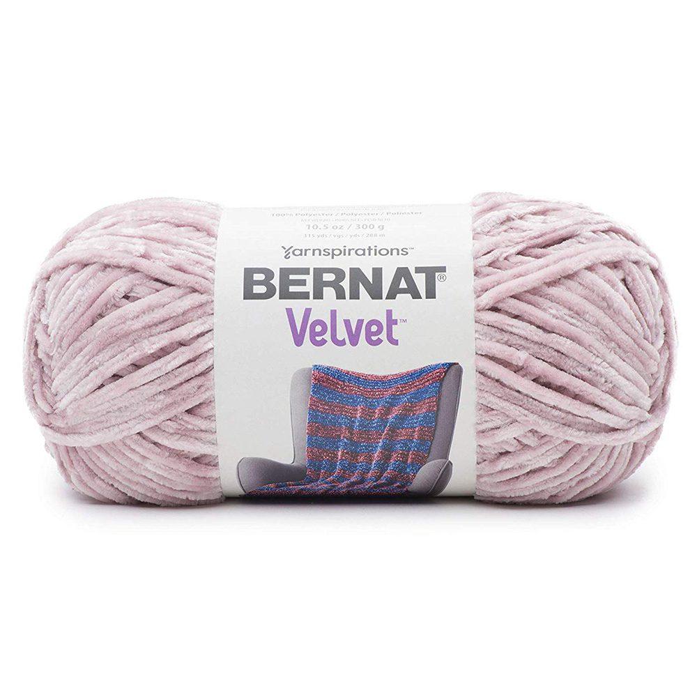 Bernat Velvet Yarn - Smokey Violet