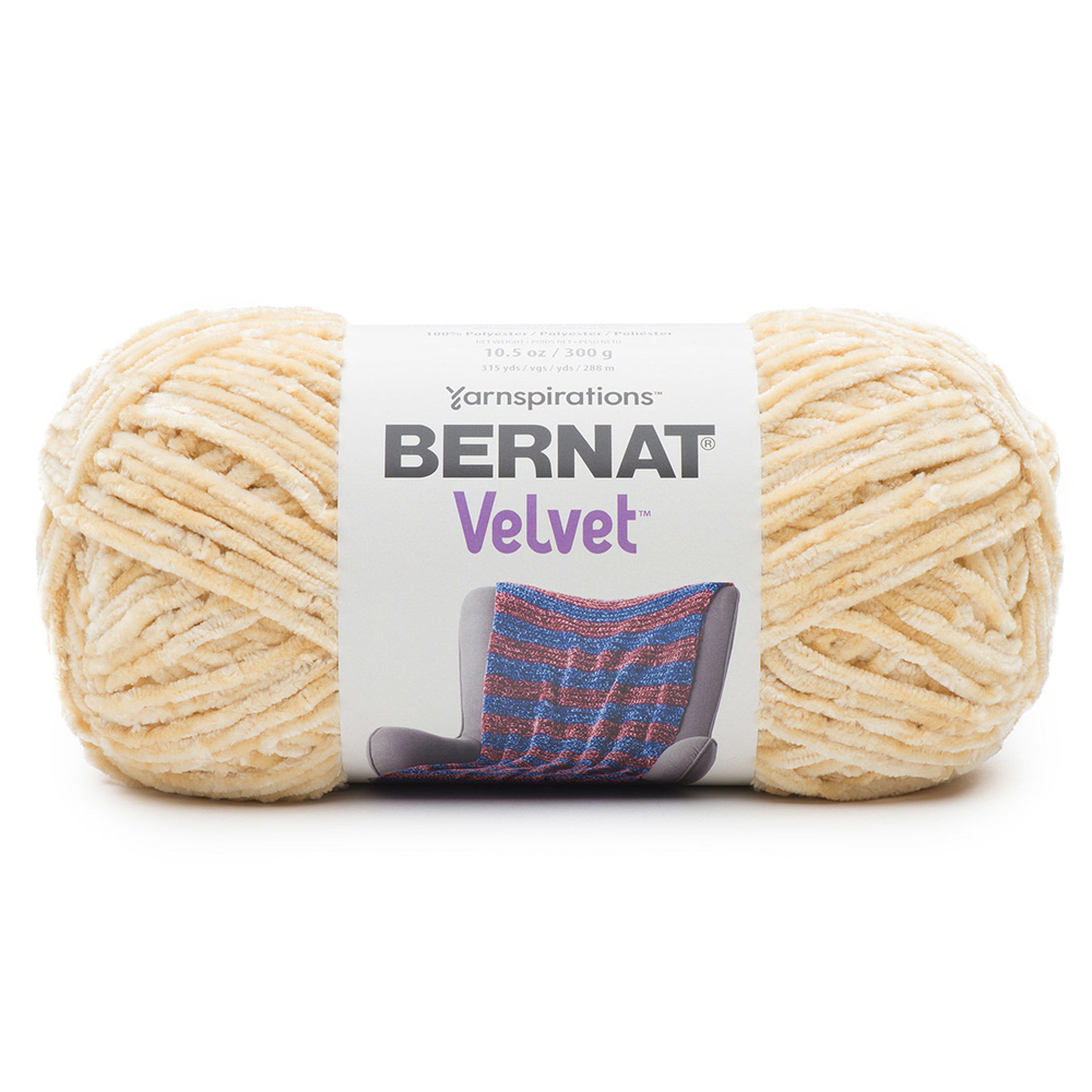 Bernat Velvet Yarn - Soft Sunshine
