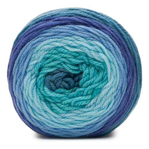 Blue Chambray-Bernat Pop yarn