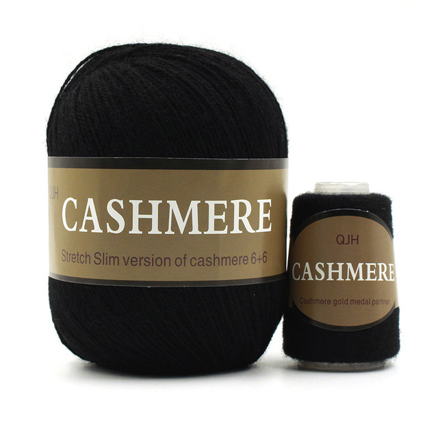 Charcoal-Cashmere-Natural -Mongolian-yarn