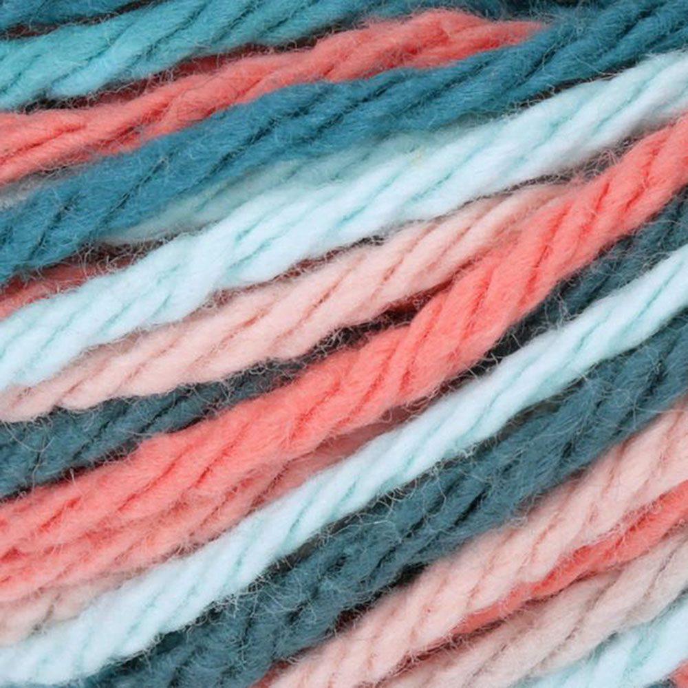 Coral Seas- Lily sugar cream ombre yarn