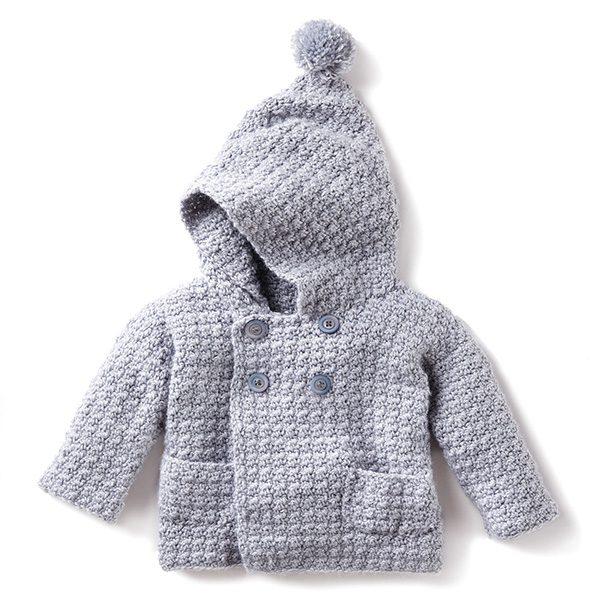 Cosy Crochet Hoodie