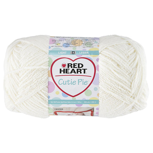 Cutie pie red heart yarns - cotton