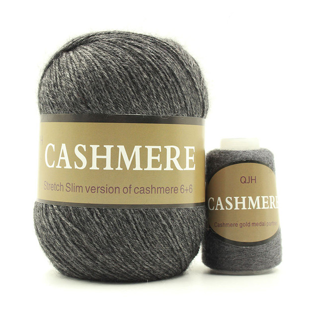 Dark-Grey-Cashmere-Natural -Mongolian-yarn