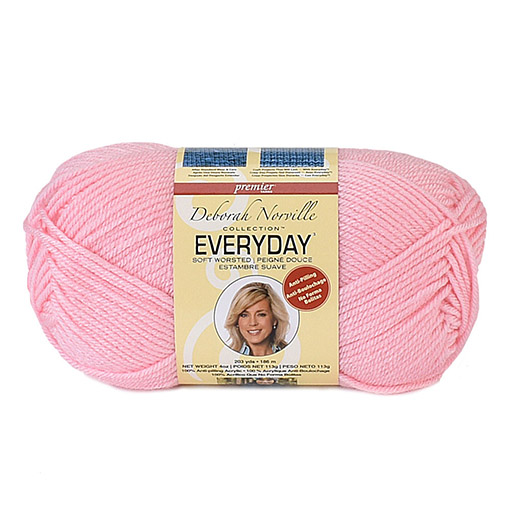 Deborah Norville Everyday Soft Worsted yarn main