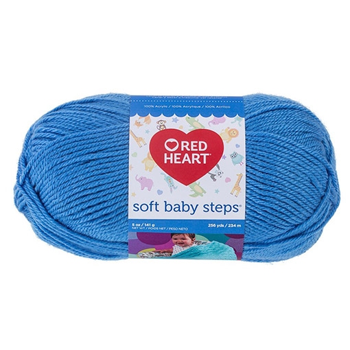 Deep Sky - Red Heart Soft Baby Steps
