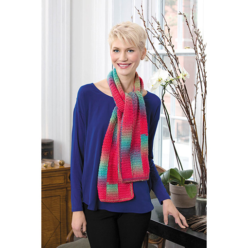Fashion Accessories - Leisure arts - red heart scarf 2