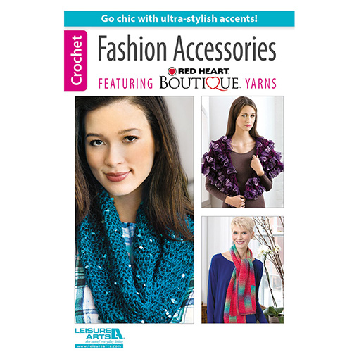 fashion accessories crochet book