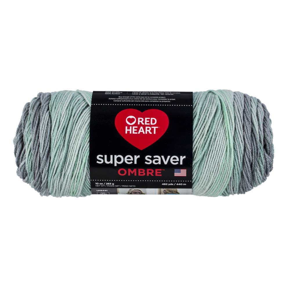 Fresh Mint - Red Heart Super Saver Ombre Yarn