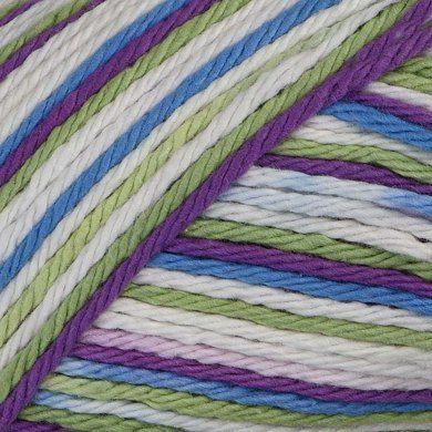 Fruit Punch - lily sugar cream yarn