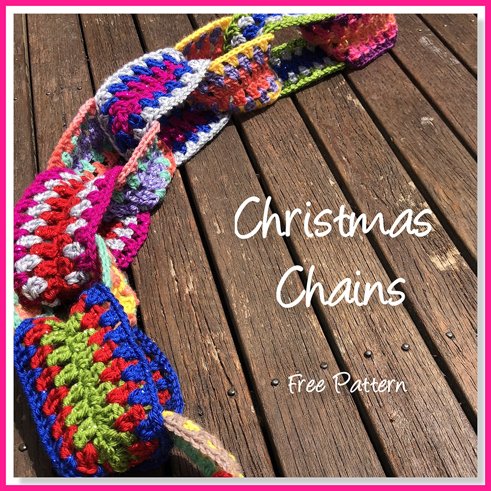 Granny Stitch Funky Chain Decor image