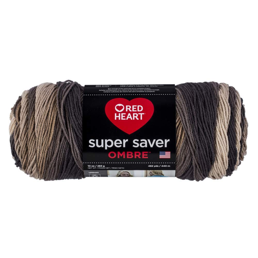 Hickory - Red Heart Super Saver Ombre Yarn