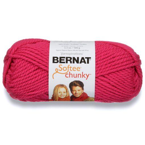 Hot Pink - Bernat Softee Chunky