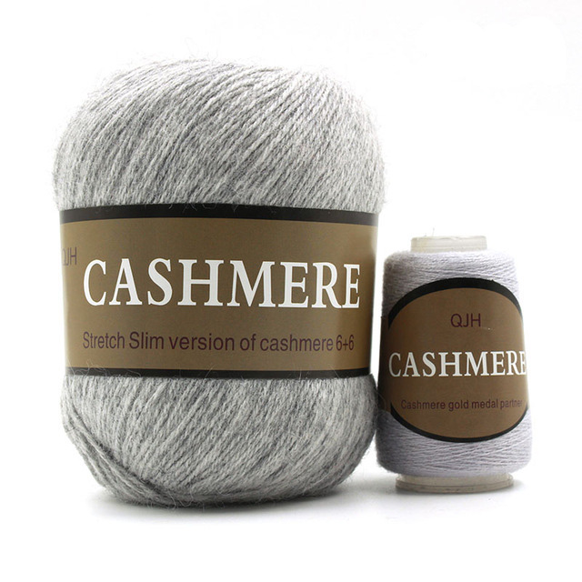 Light Grey Cashmere Natural Mongolian Yarn American Yarns