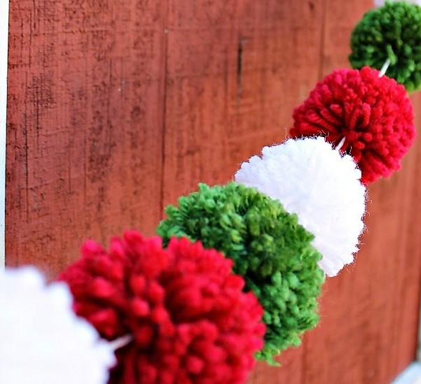 Red green white Pom 5