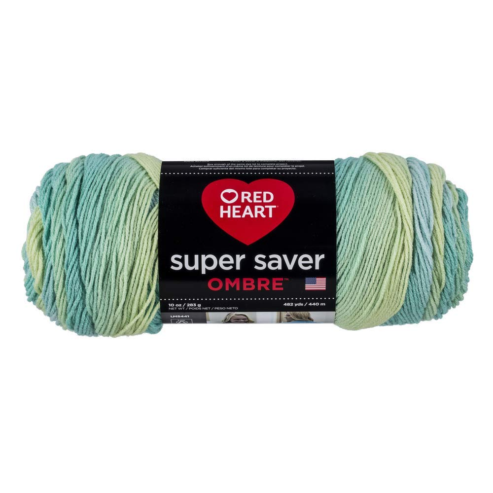 Seaside - Red Heart Super Saver Ombre Yarn