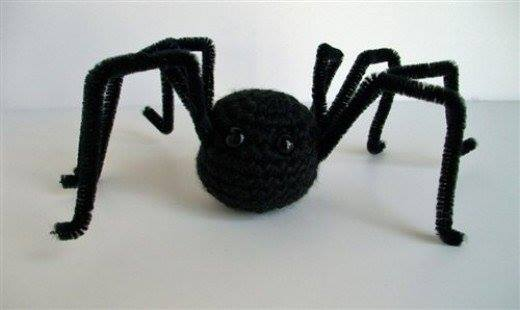 Simple Amigurumi Spider