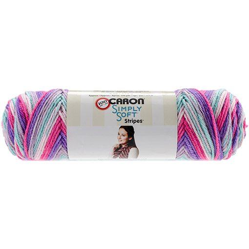 Simply Soft Stripes Yarn