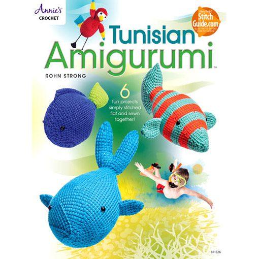 Tunisian Amigurumi Crochet Pattern-annies crochet book