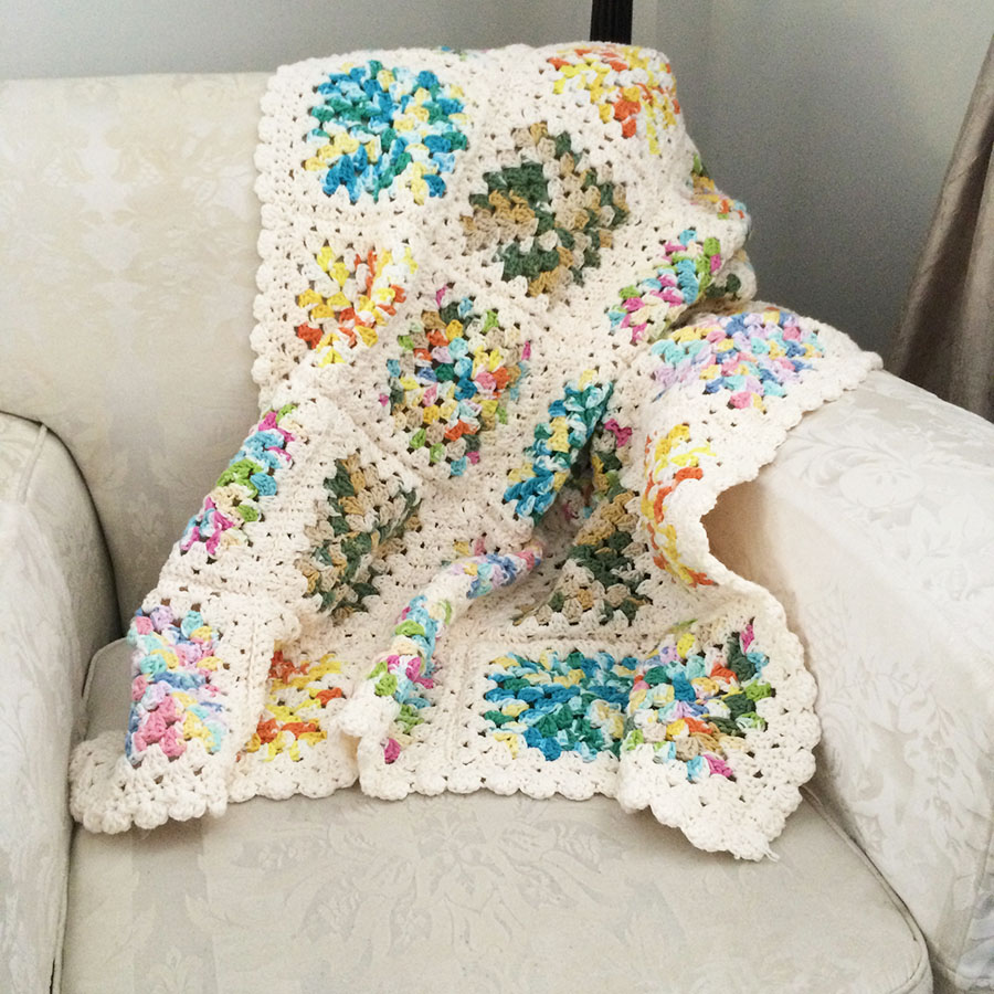 blanket multicoloured for babies