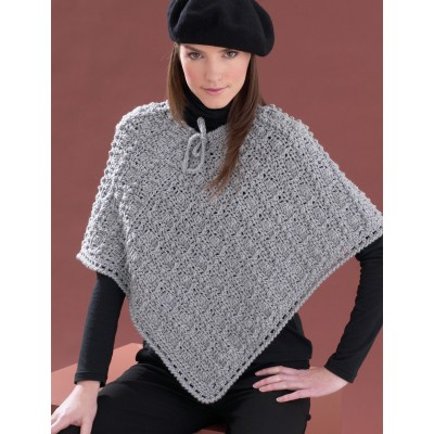 bernat perfect patterned poncho