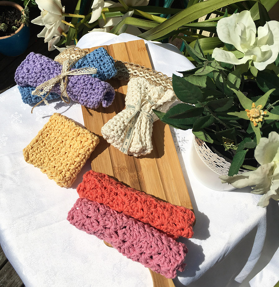 crochet-dish-cloth-rainbow-colors-1