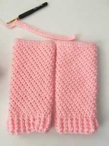 crochet leg warmers crunchy stitch
