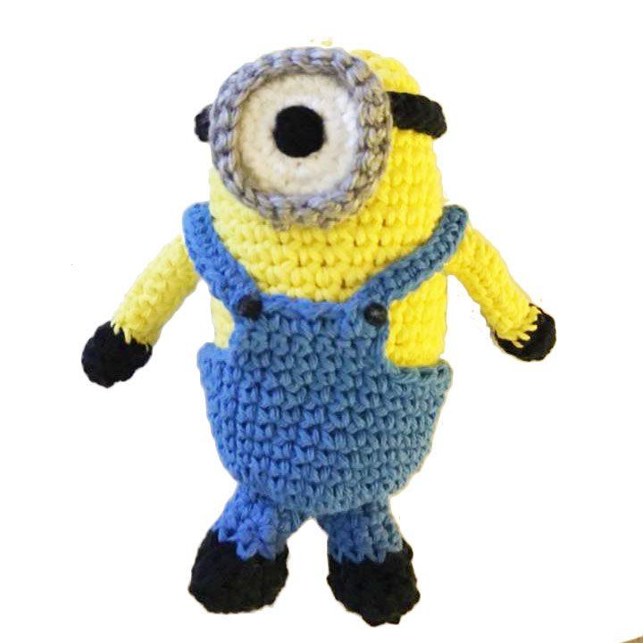 crochet minion toy