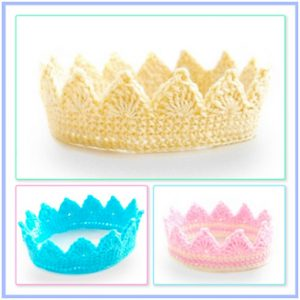 crochet princess crown pattern
