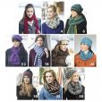 hats & scarves crochet book inner pages 2