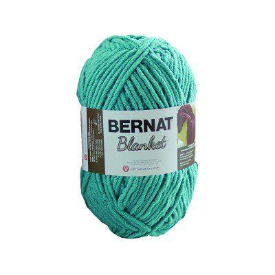 bernat blanket 300g teal colour