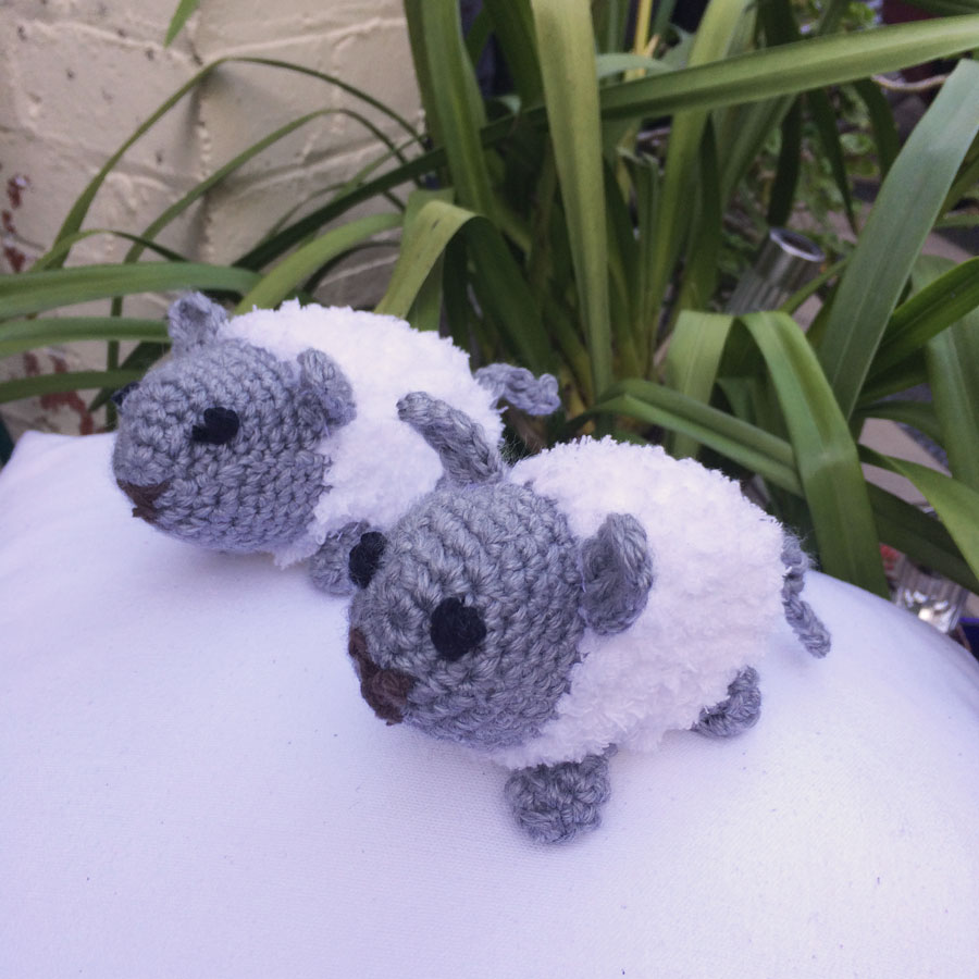 crochet toy woolley the sheep