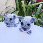 crochet toy sheep - Bernat pipsqueak white yarn