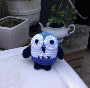 Crochet toy - Owly the owl