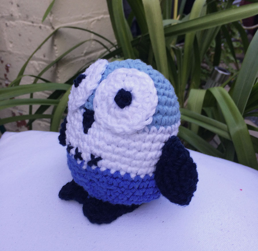crochet toy - owl