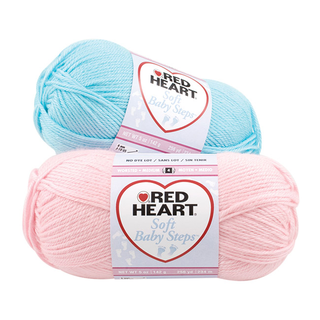 Red Heart Soft Baby Steps Yarn American Yarns