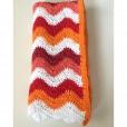shower-mat-blanket-orange-red