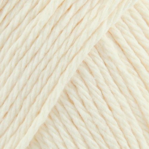 Soft Ecru lily cotton yarn