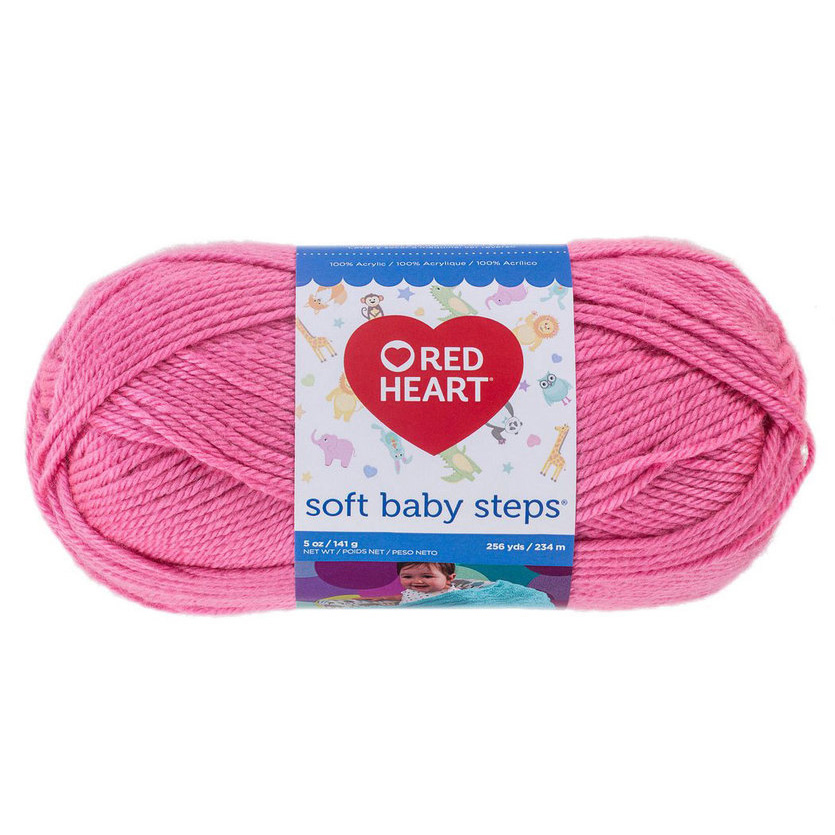 strawberry-red-heart-baby-steps-yarn