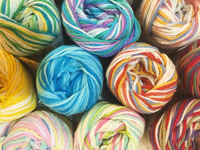 yarn in different colours